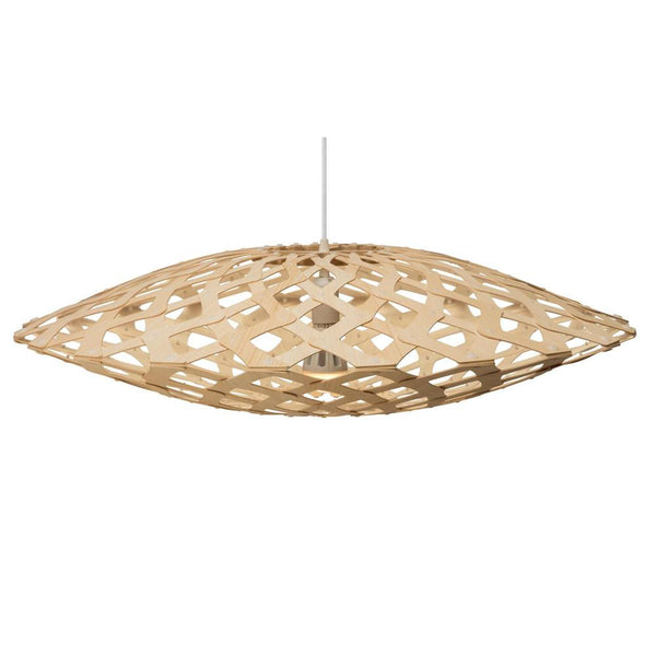 David Trubridge - Flax Pendant - Natural / Natural / 800 - Lekker Home