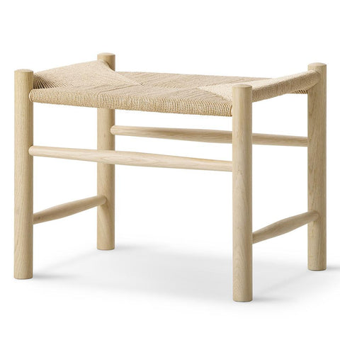 Fredericia - J16 Stool - Beech Soap / Natural Papercord - Lekker Home