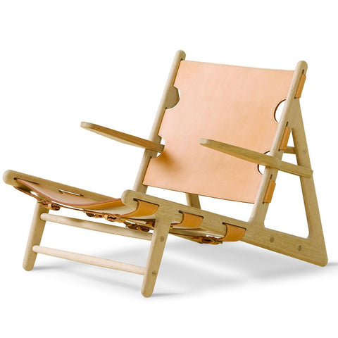 Fredericia - The Hunting Chair - Oak Soap / Natural - Lekker Home