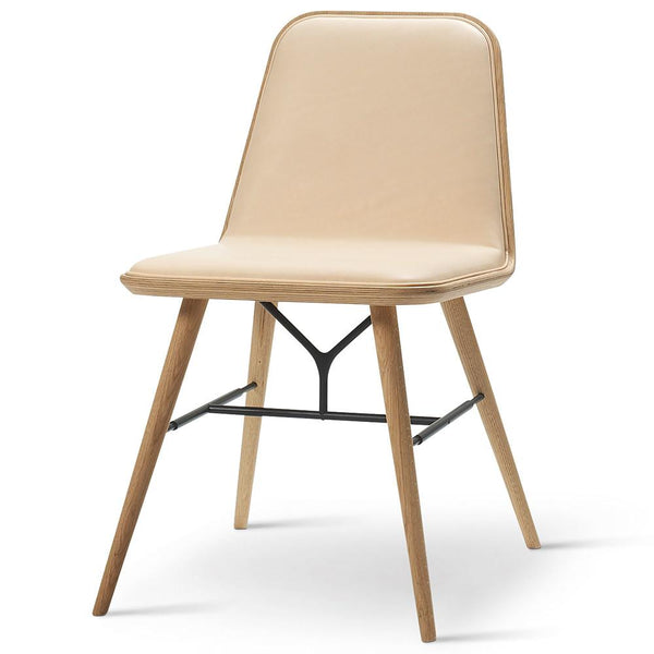 Fredericia - Spine Chair - Rime 981 / Black Lacquered Ash - Lekker Home