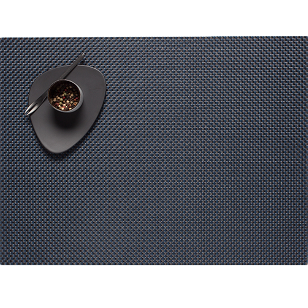 Chilewich - Basketweave Placemat - Navy / Rectangle - Lekker Home