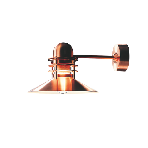 Louis Poulsen - Nyhavn Wall Lamp - Brushed Copper / One size - Lekker Home