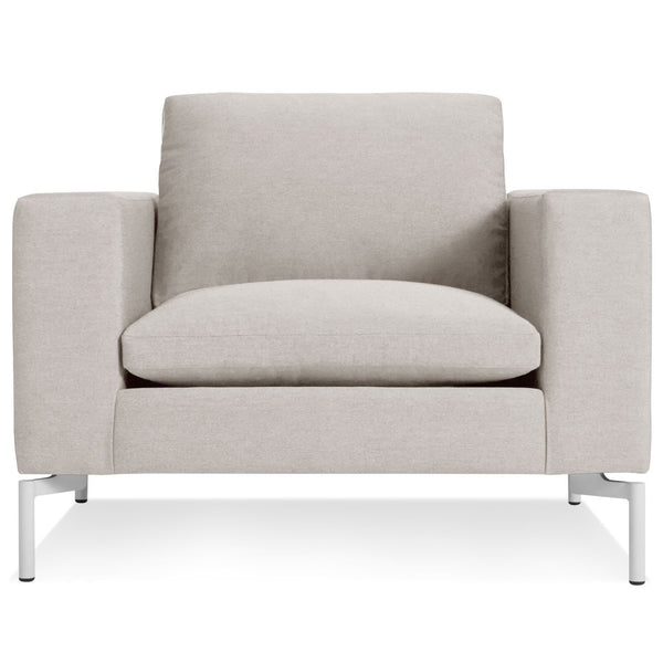 Blu Dot - New Standard Lounge Chair - Nixon Sand / White - Lekker Home