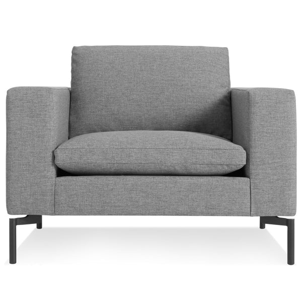 Blu Dot - New Standard Lounge Chair - Spitzer Grey / Black - Lekker Home