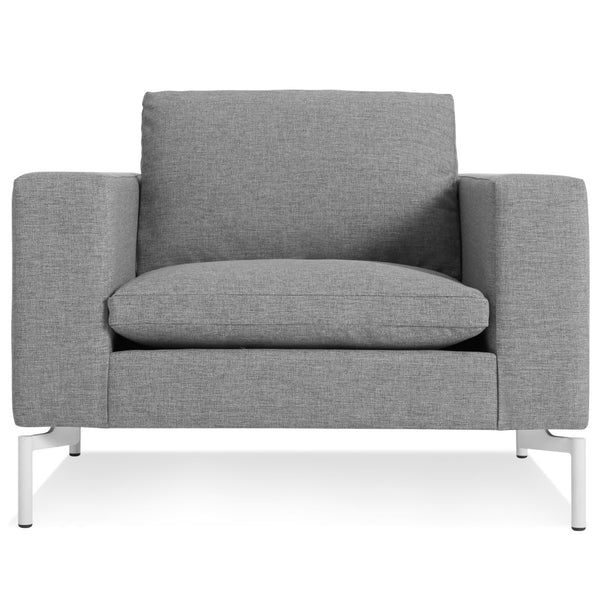 Blu Dot - New Standard Lounge Chair - Spitzer Grey / White - Lekker Home