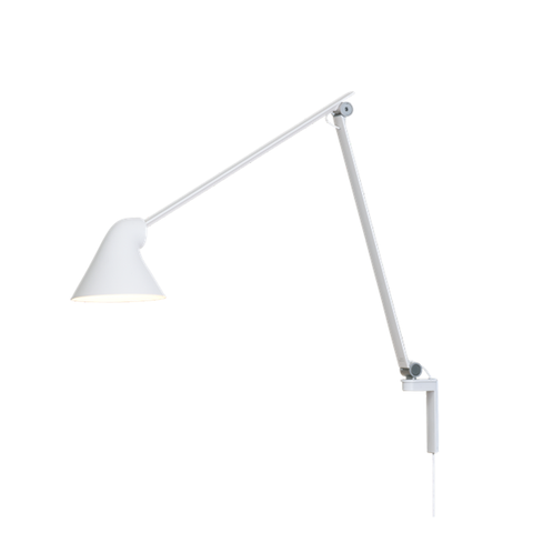 Louis Poulsen - NJP Wall Lamp - White / Long Arm - Lekker Home