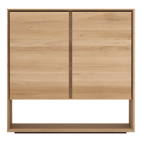 Ethnicraft NV - Nordic Sideboard - Solid Oak / Two Doors - Lekker Home