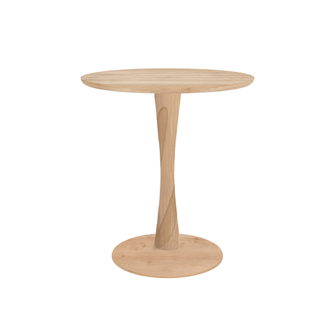 "Ethnicraft NV - Torsion Dining Table - Natural Oak / 28"" Table - Lekker Home"