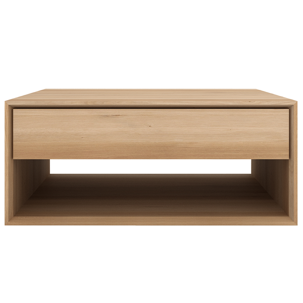 "Ethnicraft NV - Nordic Coffee Table - Solid Oak / 32"" Table - Lekker Home"
