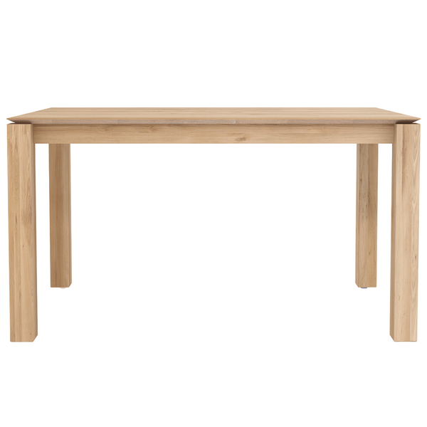 "Ethnicraft NV - Slice Dining Table - Solid Oak / 87"" - Lekker Home"
