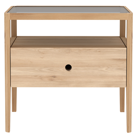 Ethnicraft NV - Spindle Nightstand - Lekker Home