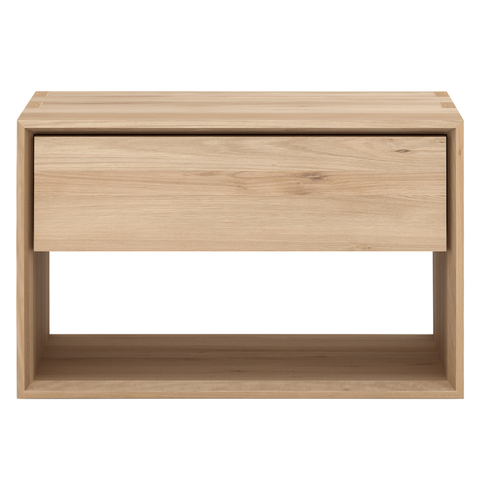 Ethnicraft NV - Nordic Nightstand - Solid Oak / Hanging - Lekker Home
