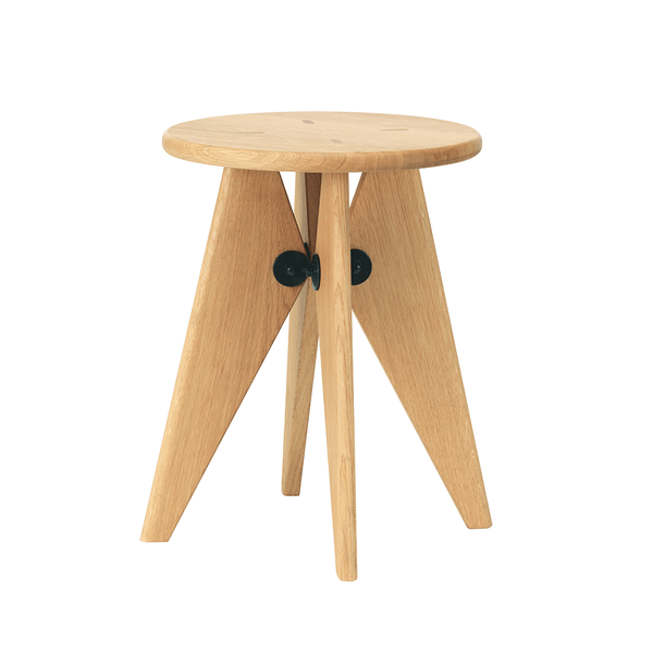 Vitra - Tabouret Solvay - Natural Oak / One Size - Lekker Home