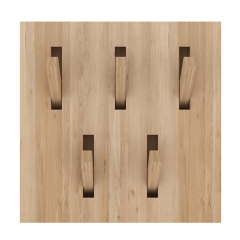 Ethnicraft NV - Utilitile Coat Rack - Oak / One Size - Lekker Home