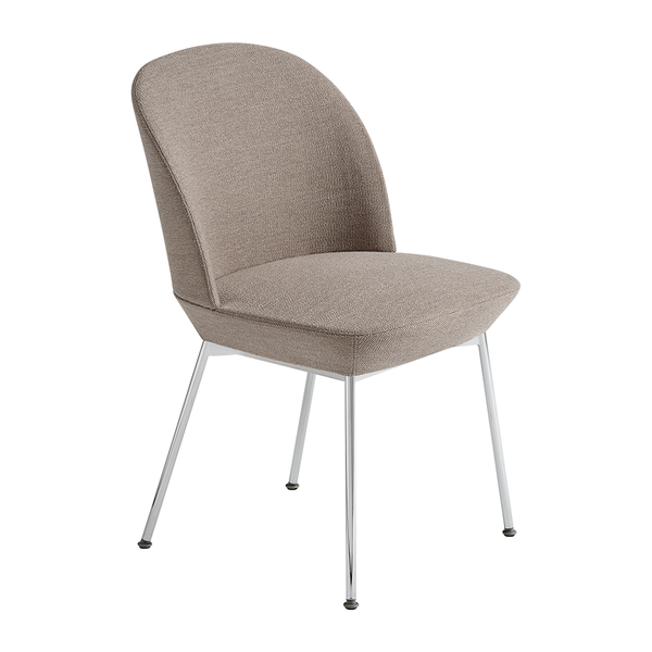 Muuto - Oslo Side Chair - Ocean 32 / Chrome / One Size - Lekker Home