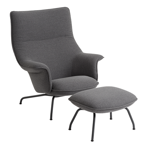 Muuto - Doze Lounge Chair and Ottoman - Lekker Home