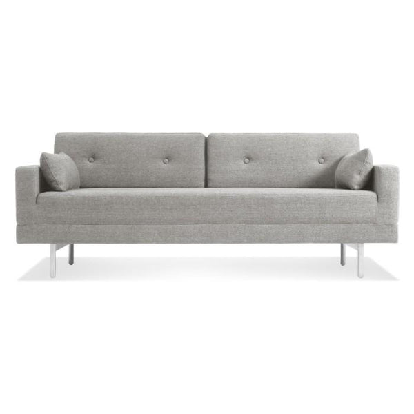 Blu Dot - One Night Stand Sleeper Sofa - Edwards Light Grey / One Size - Lekker Home