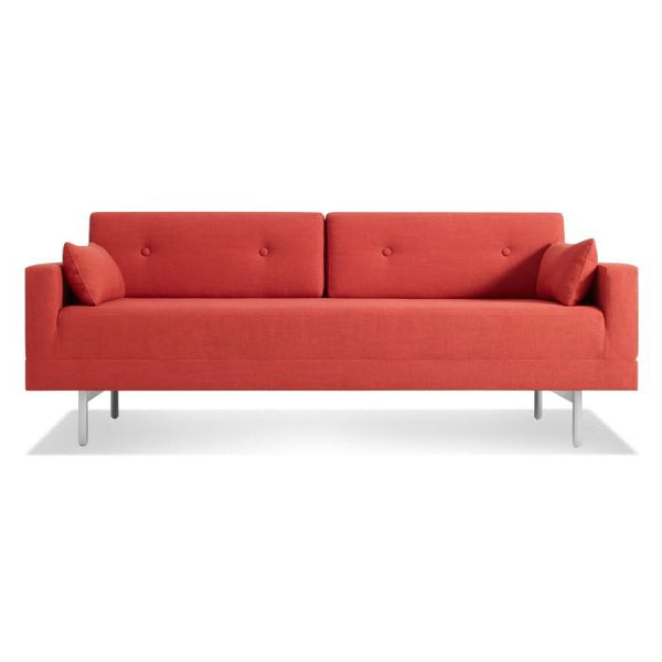 Blu Dot - One Night Stand Sleeper Sofa - Craig Red / One Size - Lekker Home