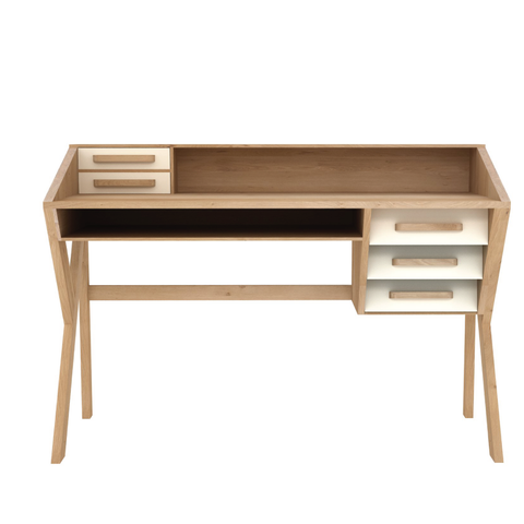 Ethnicraft NV - Marius Origami Desk - Lekker Home
