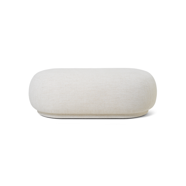 Ferm Living - Rico Ottoman - Off-White / One Size - Lekker Home