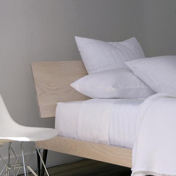 Area Bedding - Perla Bedding - White / Queen Fitted Sheet - Lekker Home