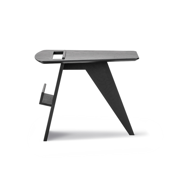 Fredericia - Risom Magazine Table - Black Lacquered Oak / One Size - Lekker Home