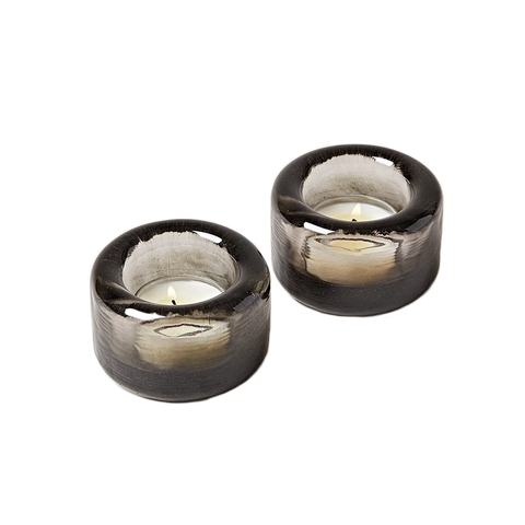 Farmhouse Pottery - Riverstone Tealight Pair - Lekker Home