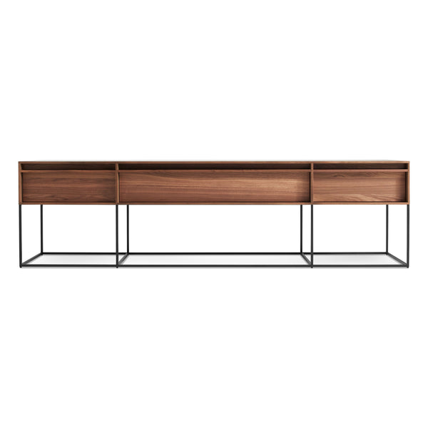 Blu Dot - Rule Long and Low - Walnut / One Size - Lekker Home