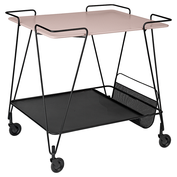 GUBI - Matégot Trolley - Rose / One Size - Lekker Home