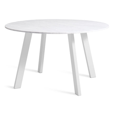 Blu Dot - Right Round Marble Dining Table - Lekker Home