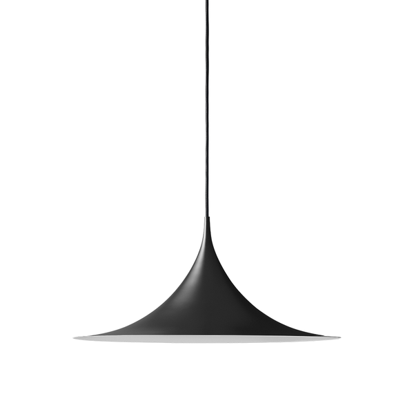 GUBI - Semi Pendant - Black Semi Matte / Small - Lekker Home