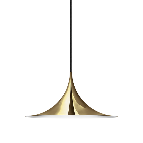 GUBI - Semi Pendant - Polished Brass / Small - Lekker Home
