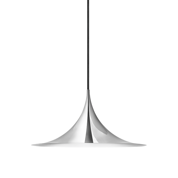GUBI - Semi Pendant - Chrome / Small - Lekker Home