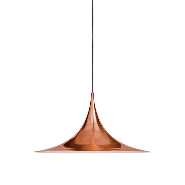 GUBI - Semi Pendant - Copper / Small - Lekker Home