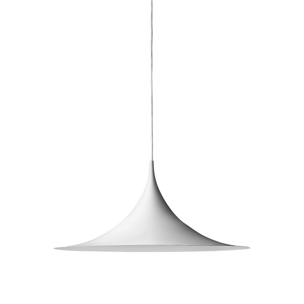 GUBI - Semi Pendant - White Semi Matte / Small - Lekker Home