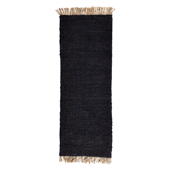 "Armadillo & Co - Sahara Weave Entrance Mat - 1'8"" x 4'7"" / Charcoal - Lekker Home"