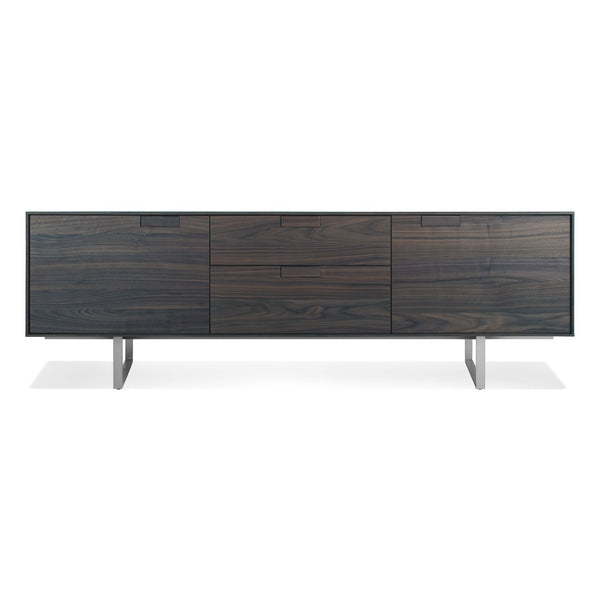 Blu Dot - Series 11 Console - Smoke / 2 Door / 2 Drawer - Lekker Home