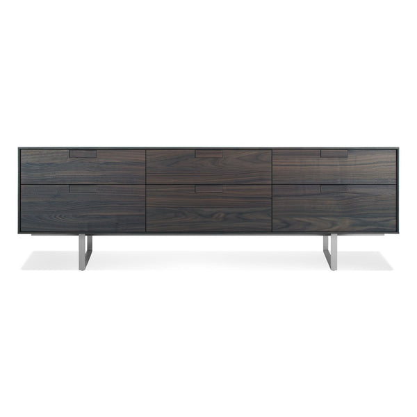 Blu Dot - Series 11 Console - Smoke / 6 Drawer - Lekker Home