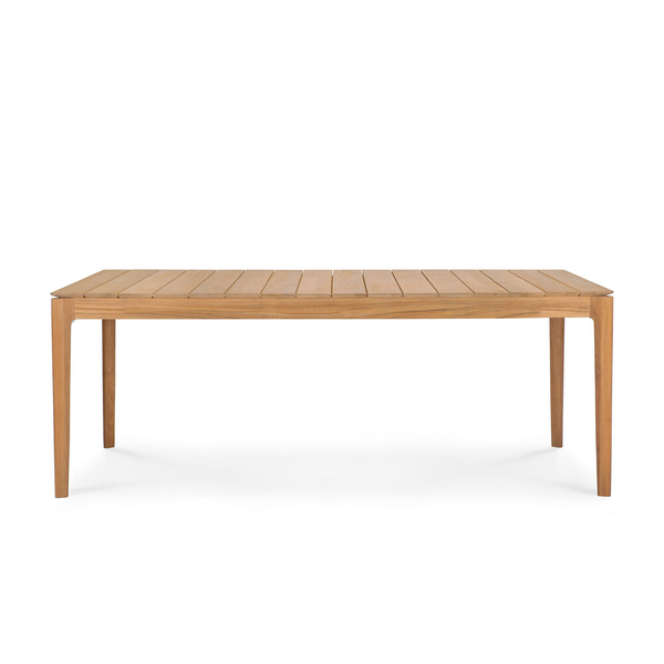 Ethnicraft NV - Teak Bok Outdoor Dining Table - Lekker Home