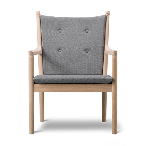 Fredericia - 1788 Lounge Chair - Rime 981 / Oak Soap - Lekker Home