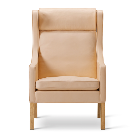 Fredericia - 2204 Wing Chair - Cognac 75 / Oak Soap - Lekker Home