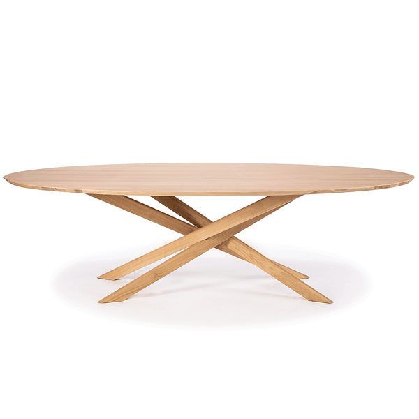 Ethnicraft NV - Mikado Oval Dining Table - Lekker Home