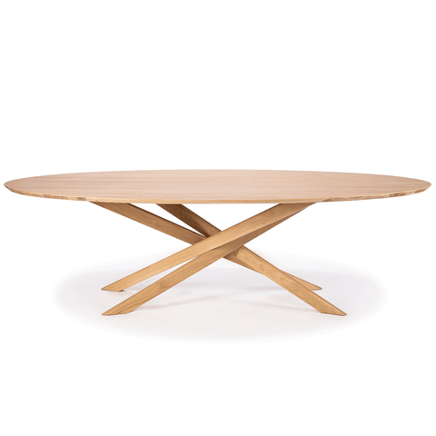 Ethnicraft NV - Mikado Oval Dining Table - Default - Lekker Home