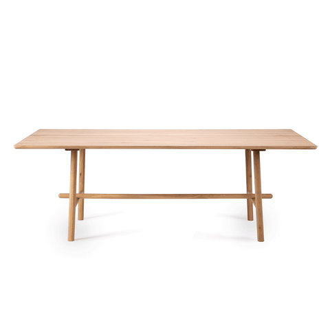 "Ethnicraft NV - Profile Dining Table - Oak / 71"" Table - Lekker Home"