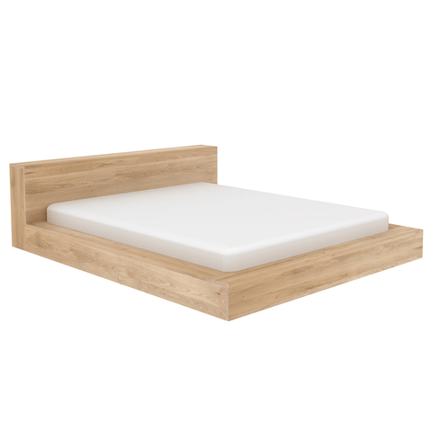 Ethnicraft NV - Madra Bed - Solid Oak / Queen - Lekker Home