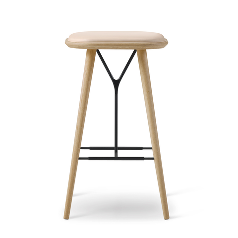 Fredericia - Spine Stool - Rime 981 / Black on Ash - Lekker Home
