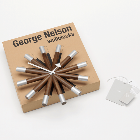 Vitra - Nelson™ Wheel Clock - Lekker Home