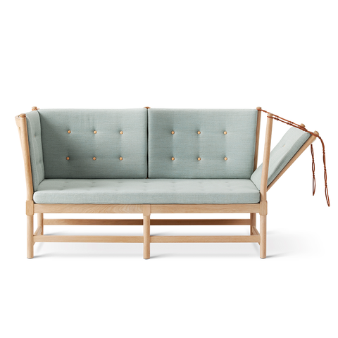 Fredericia - Spoke-Back Sofa - Rime 981 / Oak Soap - Lekker Home