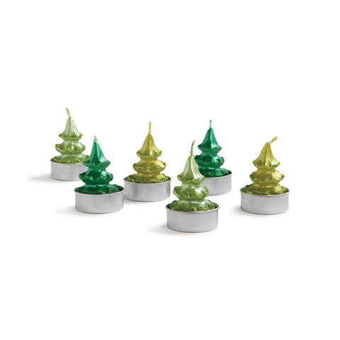 Klevering - Pine Tree Candle Set - - Lekker Home