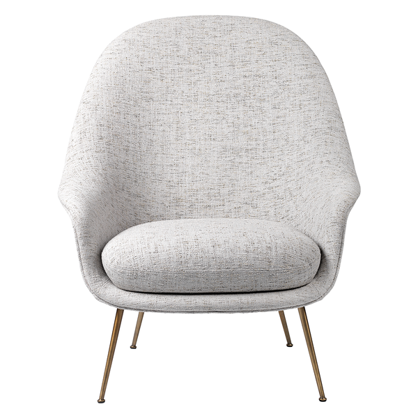 GUBI - Bat High Back Lounge Chair - Lekker Home
